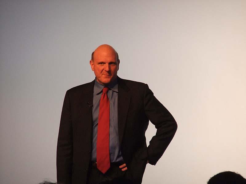 CEOのSteven Ballmer氏