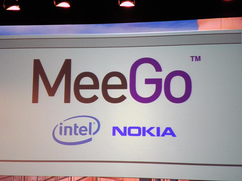 新プラットフォームの名称は「MeeGo」