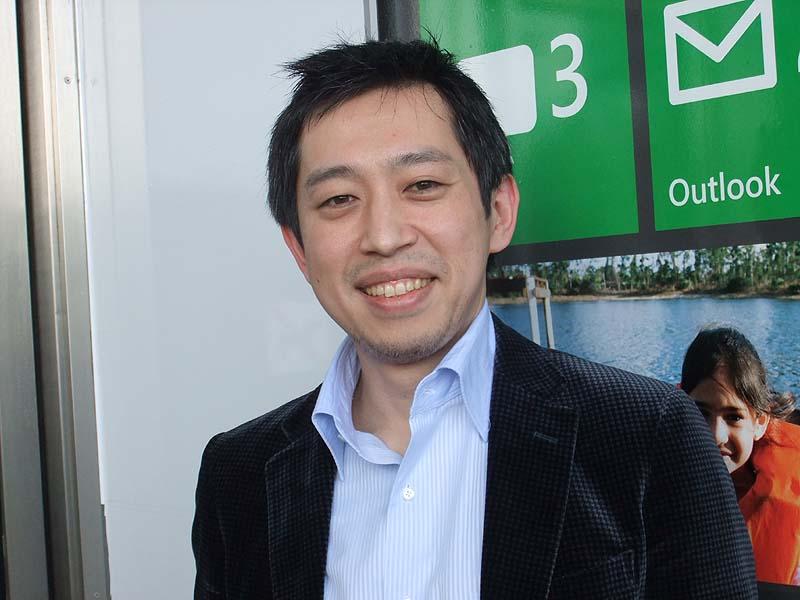 マイクロソフトの越川氏