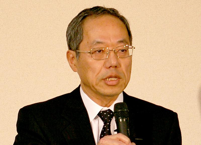 昨年8月に社長に就任した久保田幸雄氏。多くのメディアへの露出が会社更正法適用の説明となった