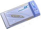 """セイコーインスツルメンツ(現セイコーインスツル)製のPCカード型PHSデータ通信カード「AirH"""" Card」(MC-P300)"""