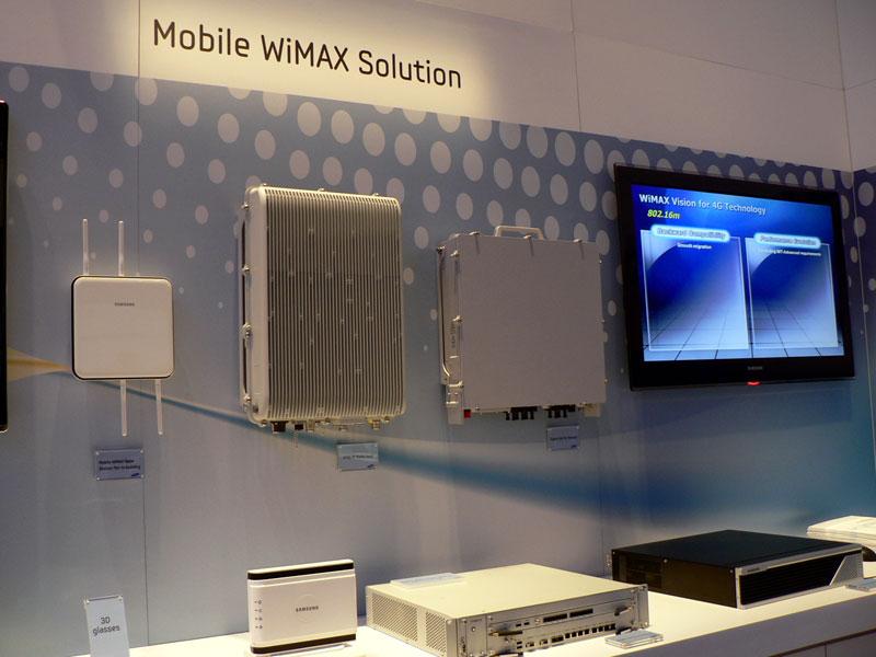 モバイルWiMAXの基地局装置