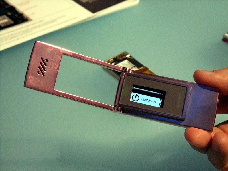 一般的なチップセットと比べ、機能は制限されているが、ウェアラブルコンピュータ向けモジュールとしての発展を目指す