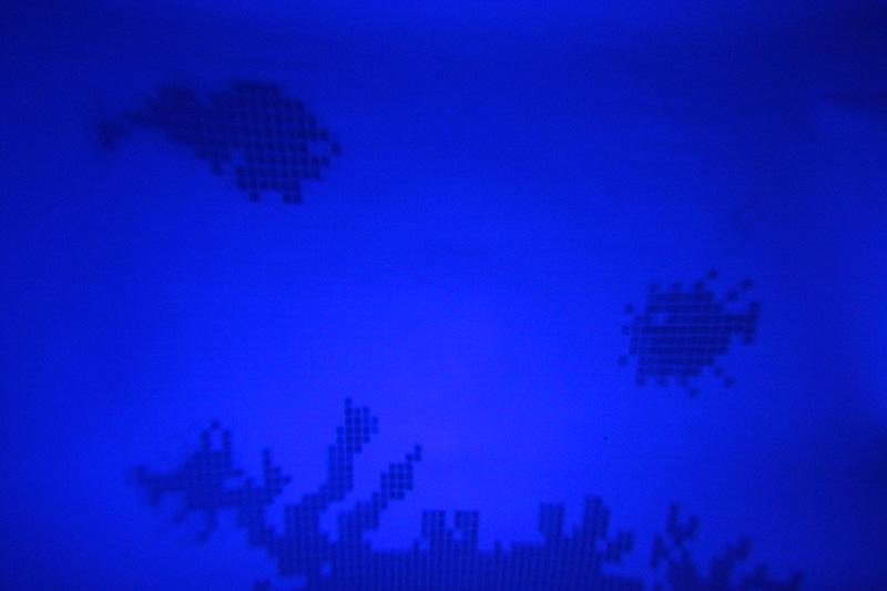 プロジェクターモードでふすまに深海を投影してみた