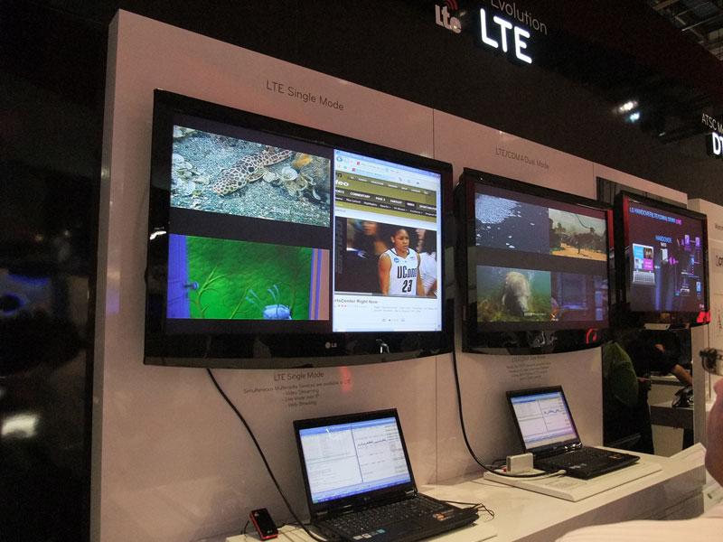 LTEの展示