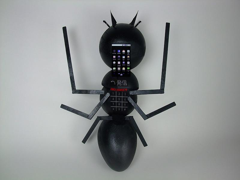 大型ボディに携帯電話としての機能をフル搭載