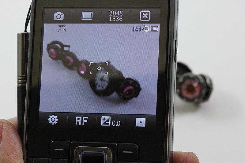 カメラ撮影画面
