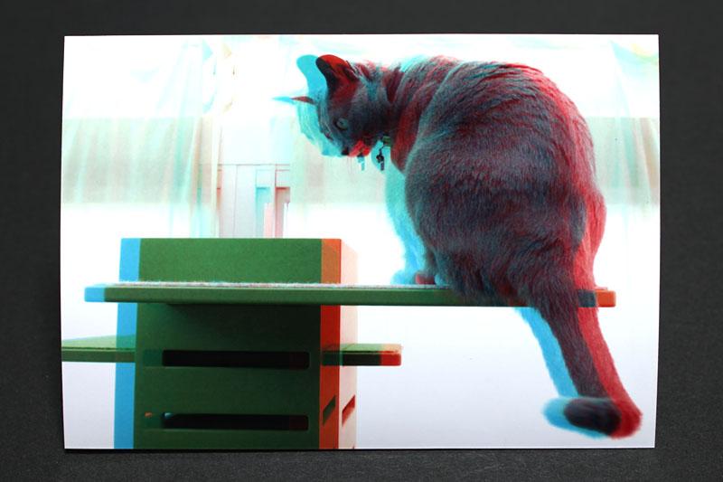 プリントマスターDX2の3Dフォト変換機能を適用したプリント
