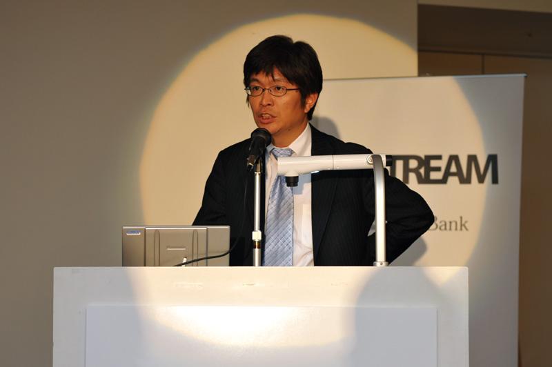 ソフトバンクモバイル 執行役員 法人事業推進本部長の安川新一郎氏