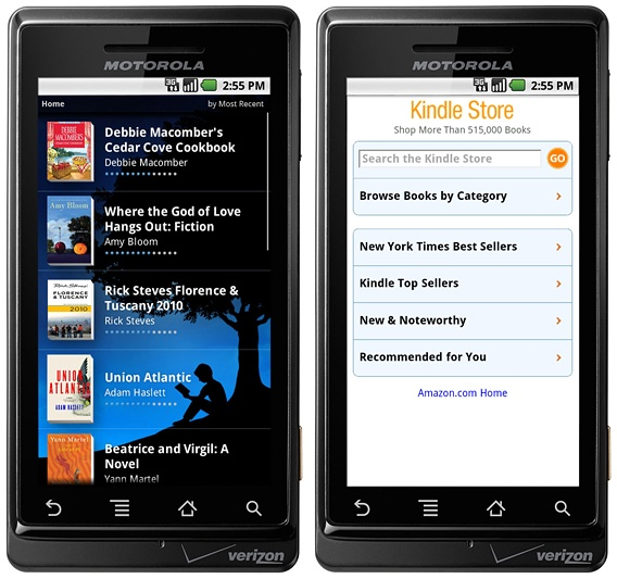 Kindle for Androidのイメージ
