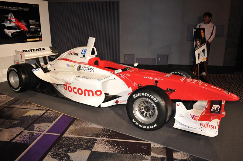 フォーミュラ・ニッポン「DOCOMO TEAM DANDELION RACING」のマシン