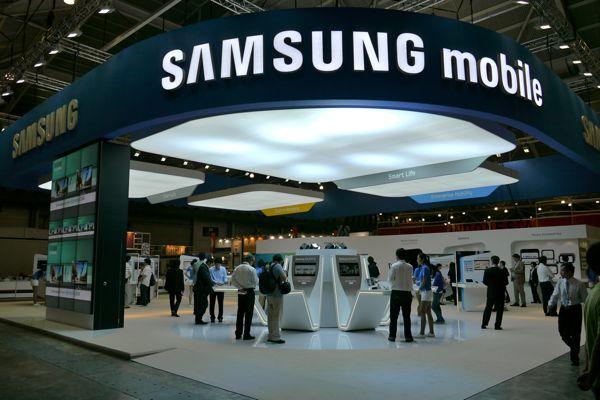 Galaxy Sを全面的に押し出していたサムスンブース