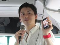 「ケータイ国盗り合戦」プロデューサーである株式会社マピオンの加藤隆志氏