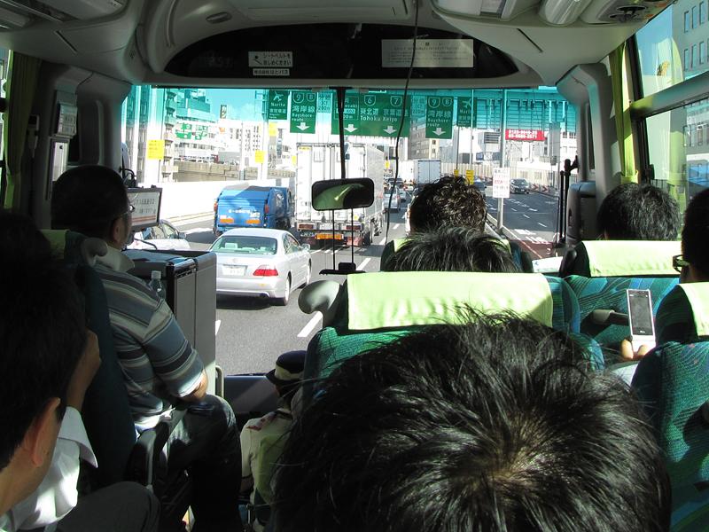 首都高速の通行タイミングを利用して、位置ゲーを実際に体験
