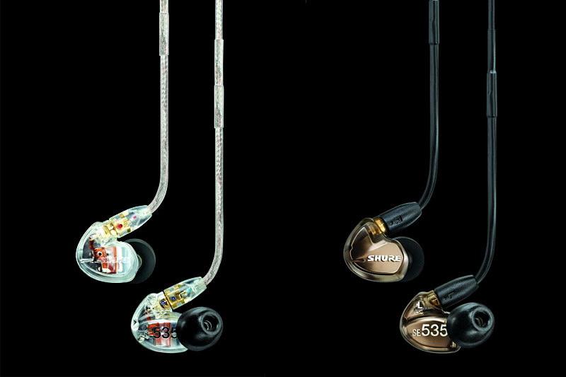 SHUREのSE535。モニター指向が強めのハイエンドステレオイヤホン。iPhone 3G/3GSの音のイマイチさなんかもズニャーンと聞こえてしまったりするイヤホンなのだ