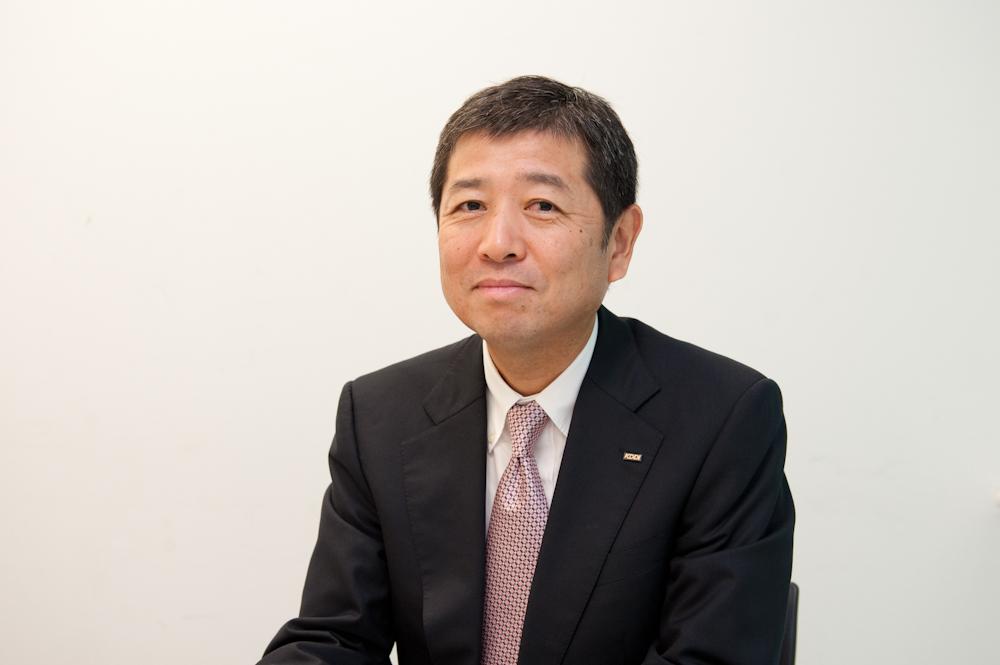 KDDI グループ戦略統括本部 新規ビジネス推進本部長の雨宮俊武氏