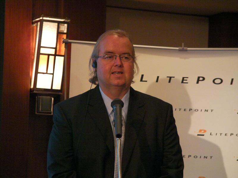 米ライトポイント 会長兼CEOのベニー・マドセン氏
