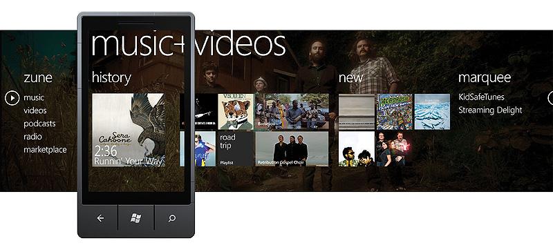 Music + Videos Hub