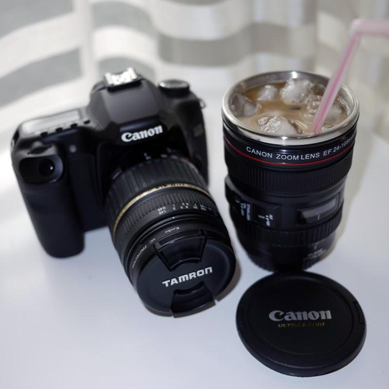 暑い夏の期間、ショートサイズは筆者のアイスコーヒー専用マグ