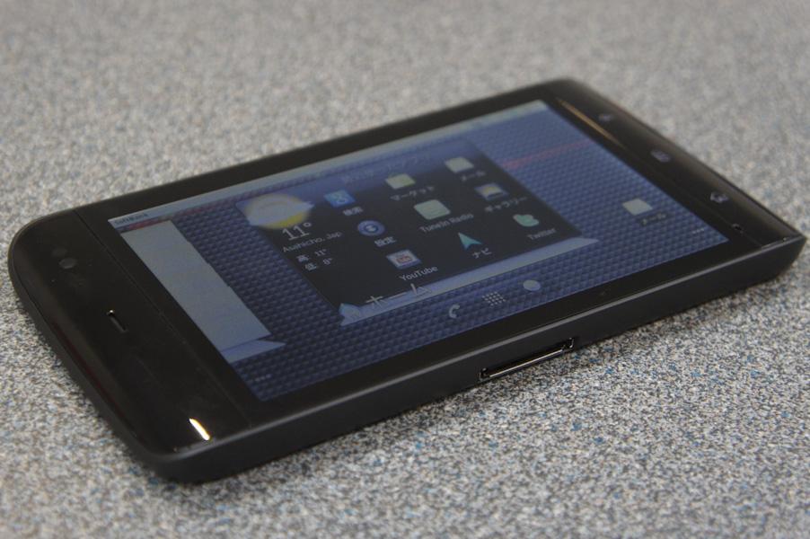 スマートフォンより一回り大きいサイズ