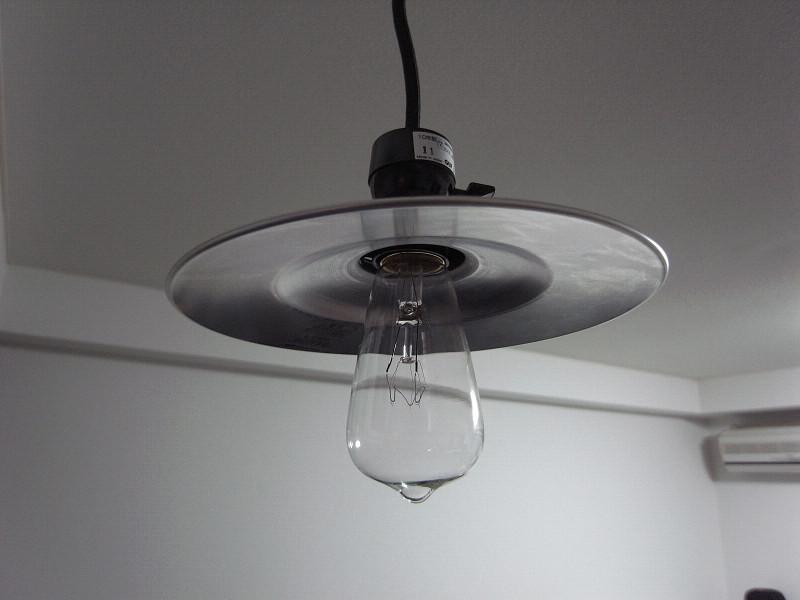 あっさりとしたデザイン、点灯していないときはクールな印象だ