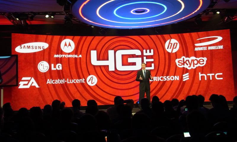700MHz帯を利用したLTEを「4G」を銘打ち、積極的にアピールする米Verizon