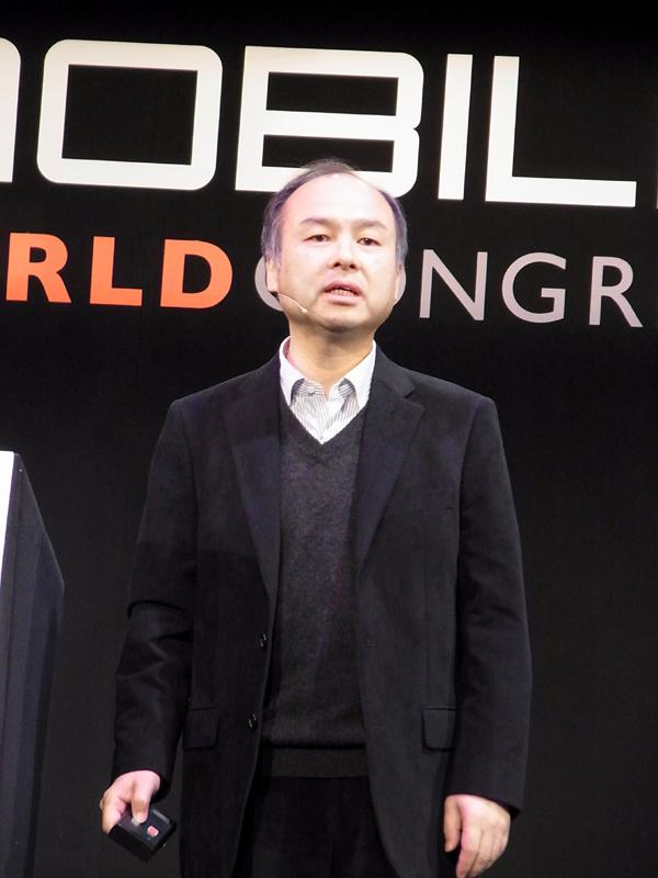 ソフトバンク、代表取締役兼CEO、孫正義氏