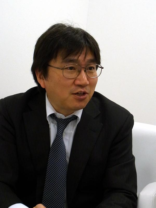 NTTドコモ フロンティアサービス部 おサイフケータイ事業推進担当部長 中村典生氏