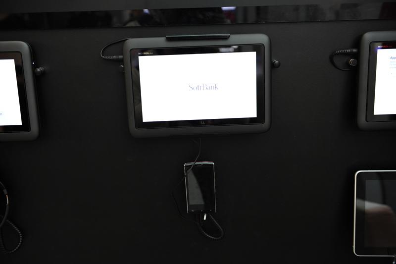 こちらはソフトバンクモバイルの003SH