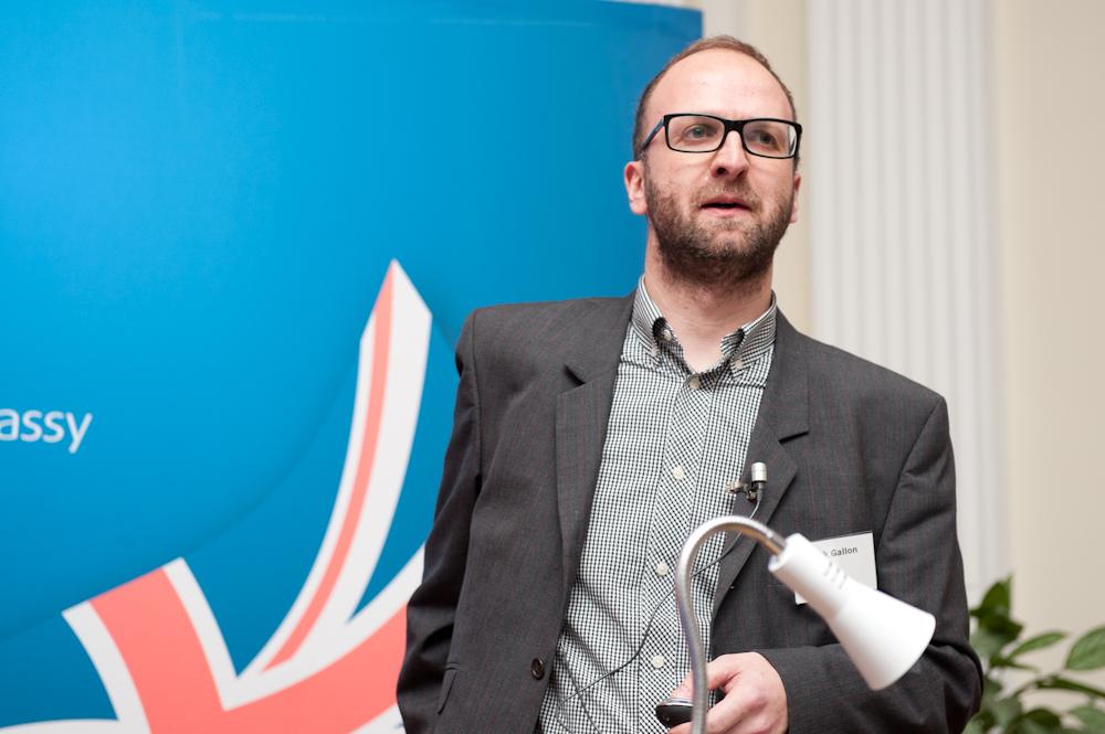 BBC フューチャーメディア&テクノロジー部 モバイル事業 ヘッドのニック・ギャロン氏