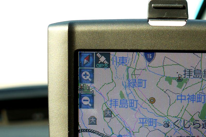 起動は遅くないが、GPSによる現在位置特定までに若干の時間がかかる。拙者の場合はいつも2分程度