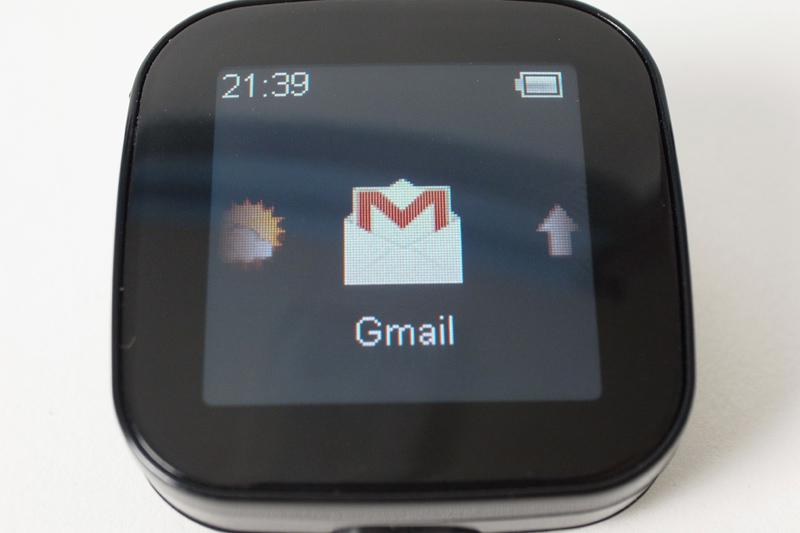 こちらはプラグインアプリとして追加したGmailの通知機能