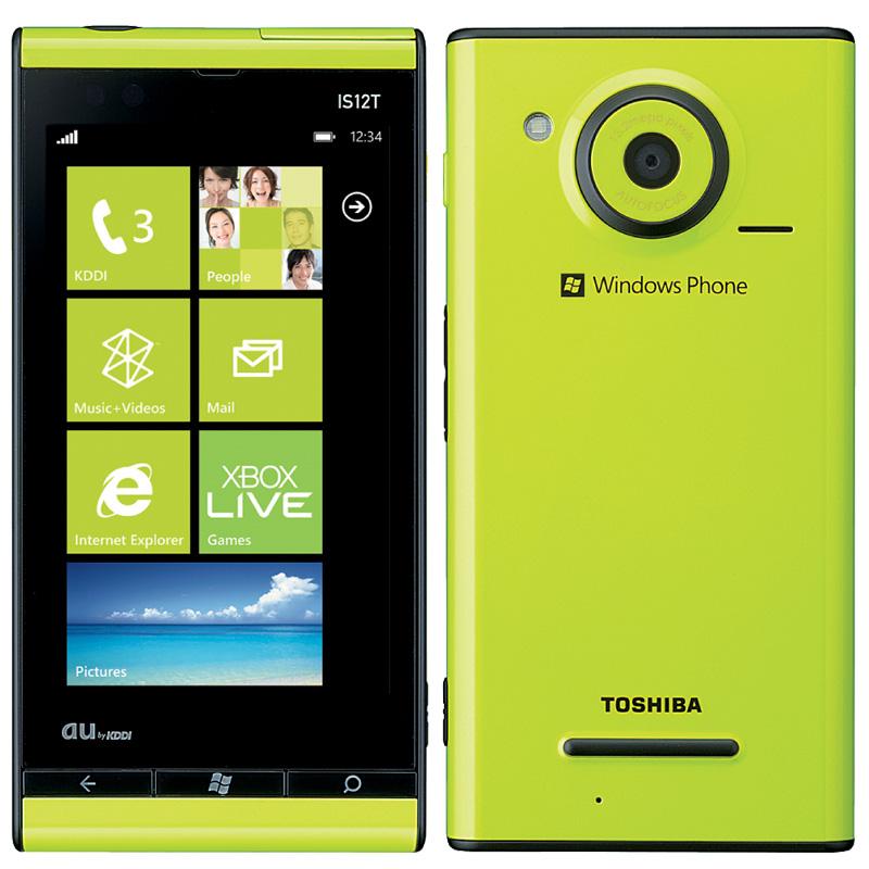 「Windows Phone IS12T」