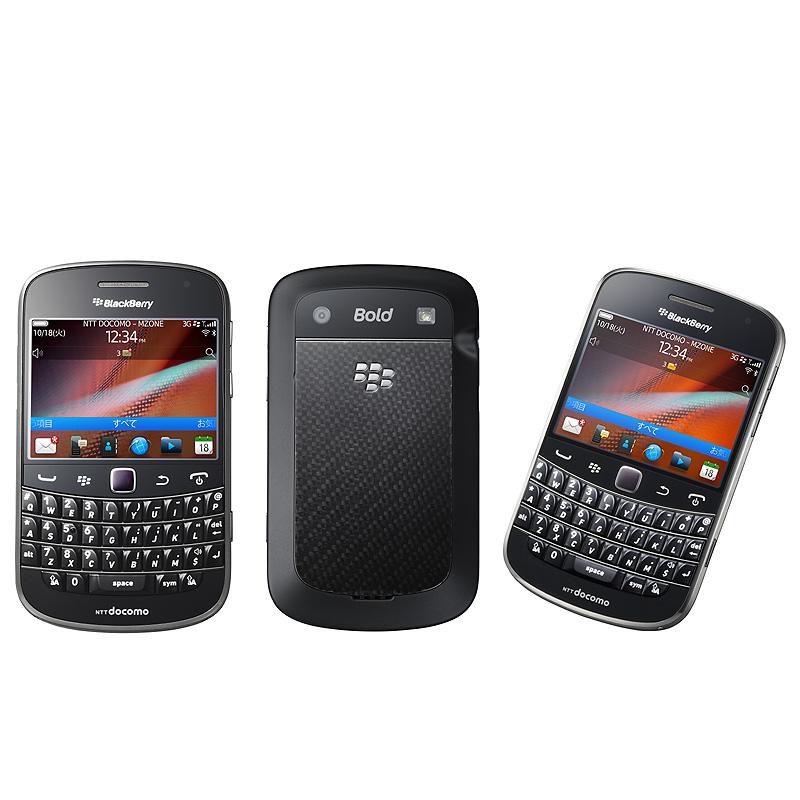 「BlackBerry Bold 9900」 Charcoal Black