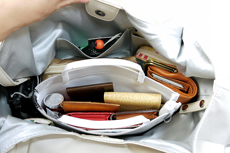 バッグインバッグとしての利用がお気に入り