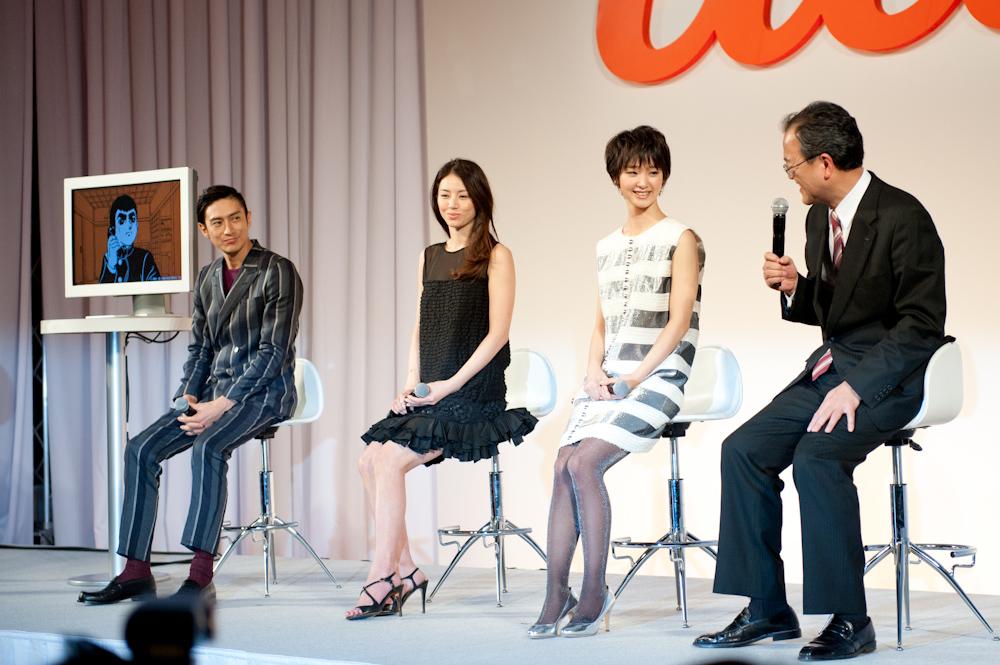 星飛雄馬と田中社長を加えてトークセッション