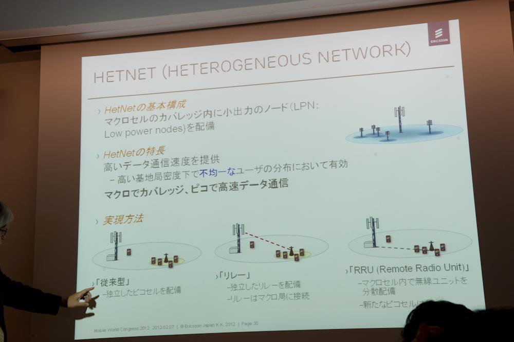 HetNetも今後導入される技術で、日本のキャリアでも研究されている