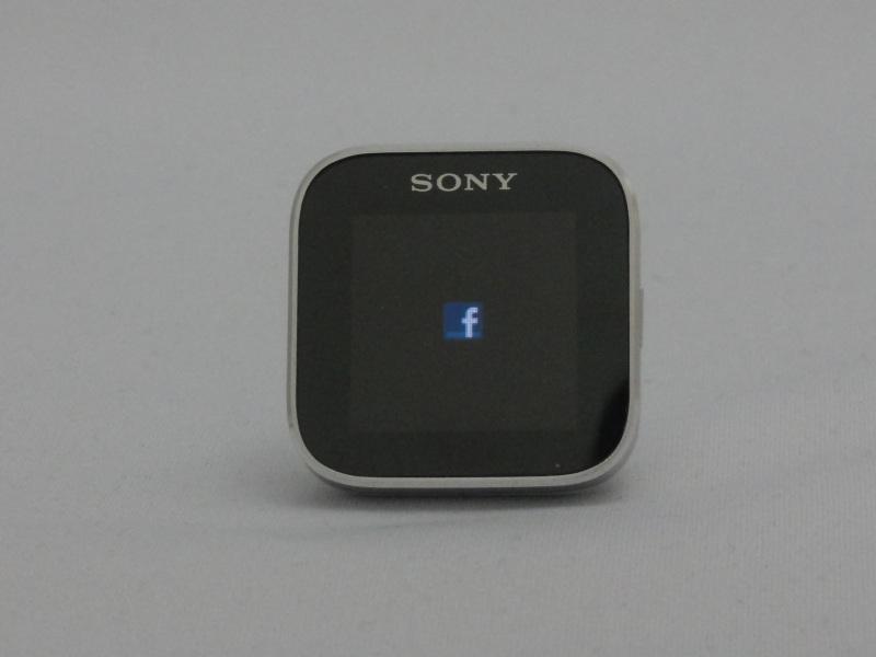 通知を受けるとサービスのアイコンが表示される