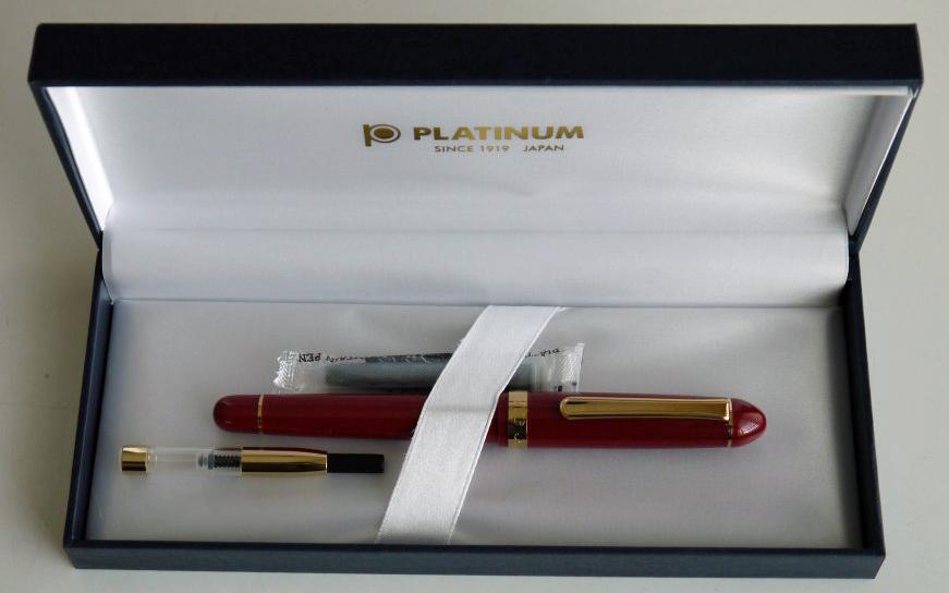 1万円の万年筆なので華美なパッケージではないがきちんとしたメーカーだ