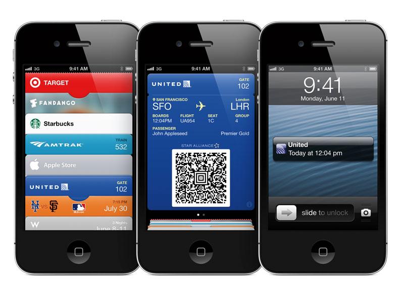 iOS 6の新機能「Passbook」