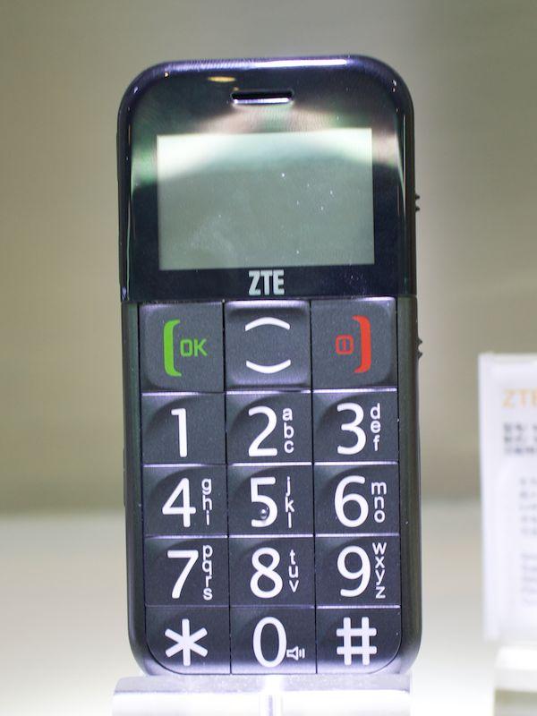 シンプルなデザインのZTE-G S202