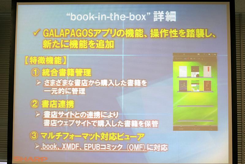 book-in-the-boxはGALAPAGOSアプリをベースにしたもの