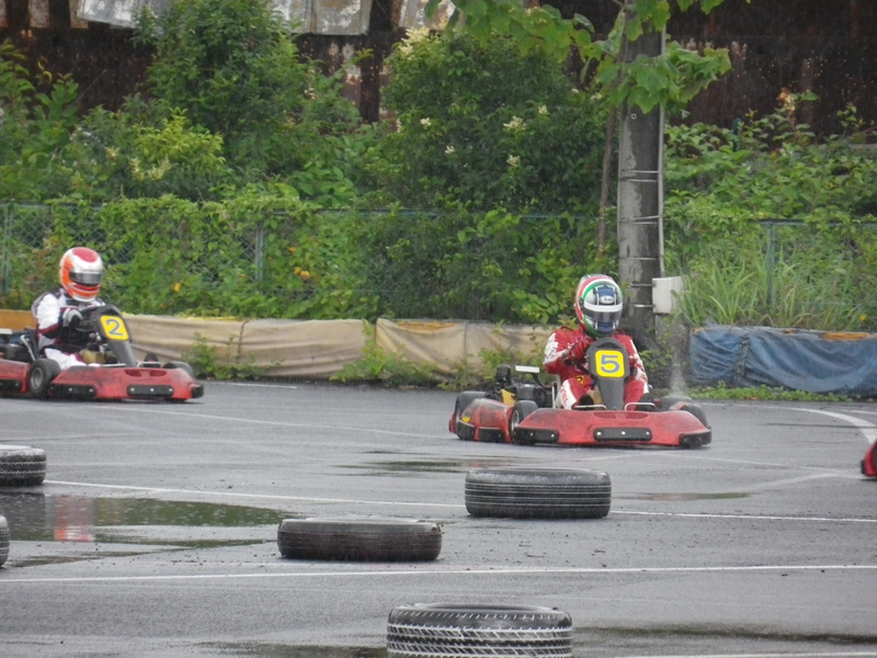 レース後半は雨が強まり完全なウェットコンディション