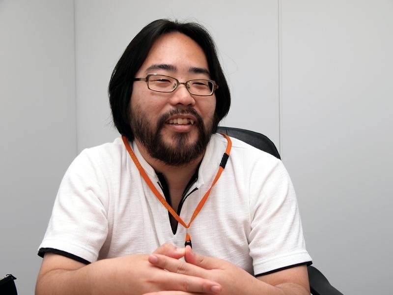 ビーワークス 情報開発事業部 ゲーム開発部 ゲームディレクター/ゲームグラフィッカーで「なめこ」キャラクターデザイナーの河合真吾氏