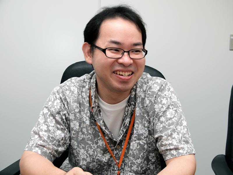 ビーワークス 情報開発事業部 ゲーム開発部 ゲームグラフィッカーで「なめこ」ディレクターの大廣将之氏