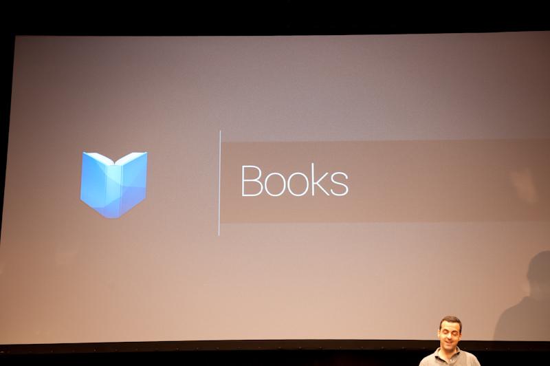 日本市場向けに電子書籍サービス「Google Play ブックス」が開始される。既存のAndroid端末でも利用できる