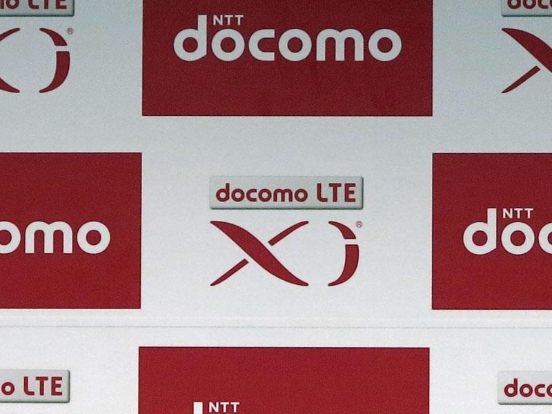 Xiのロゴのそばに「docomo LTE」。急ごしらえで対応したようだ