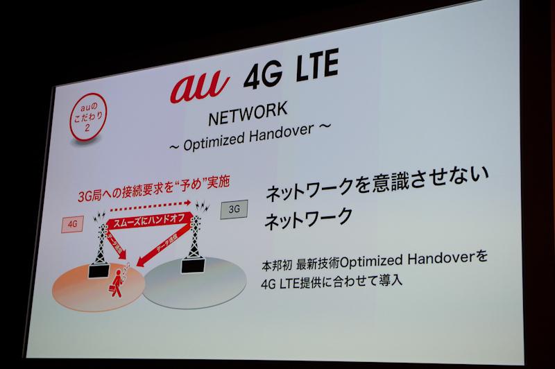 """LTEから3Gへ切り替わる""""ハンドオーバー""""を最適化"""