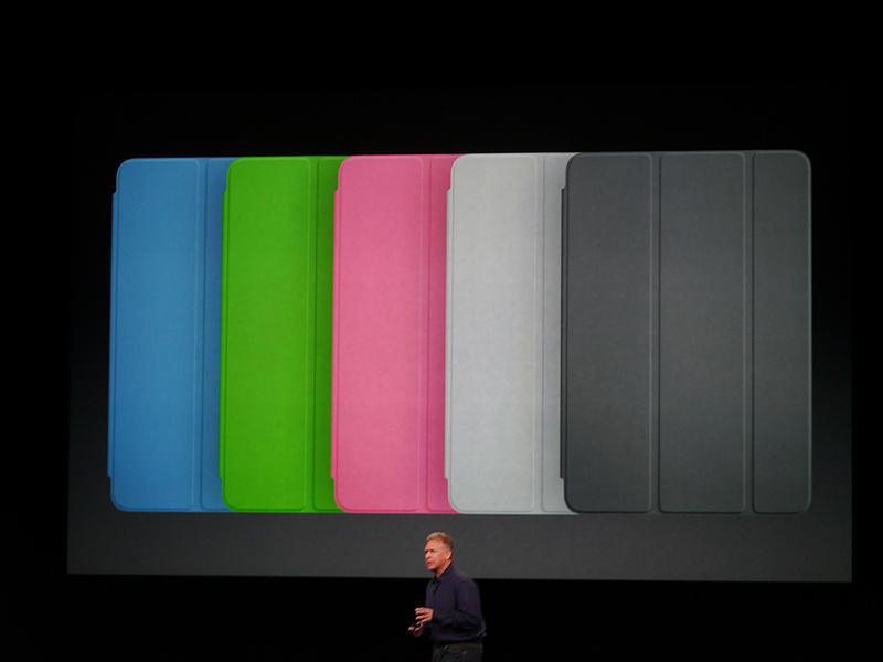 5種類のカラーのSmart Coverを用意した