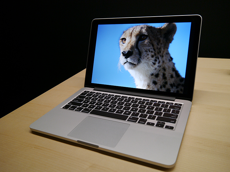 13型Retinaディスプレイを採用したMacBook Pro